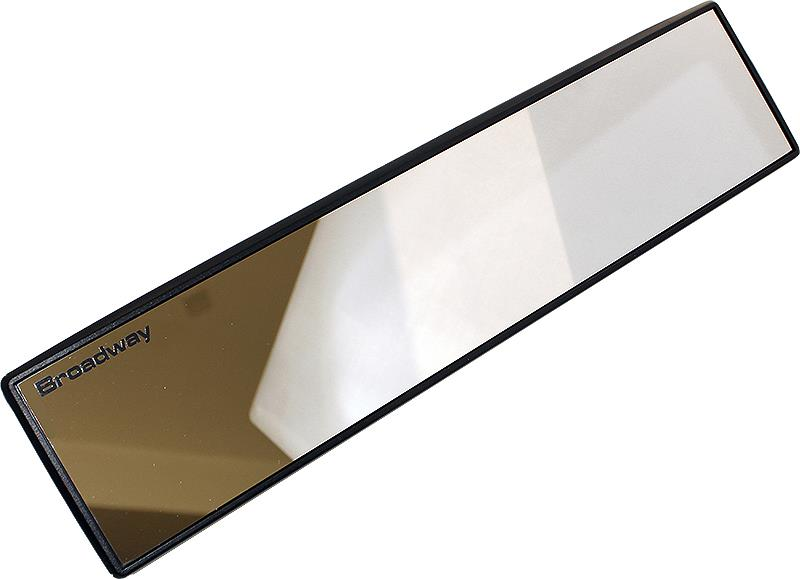 Car Vehicle-mounted large-field view 300mm white glasses mirror