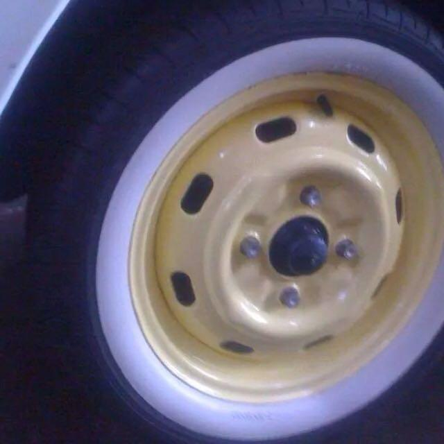 car whitewall for sale size 14""