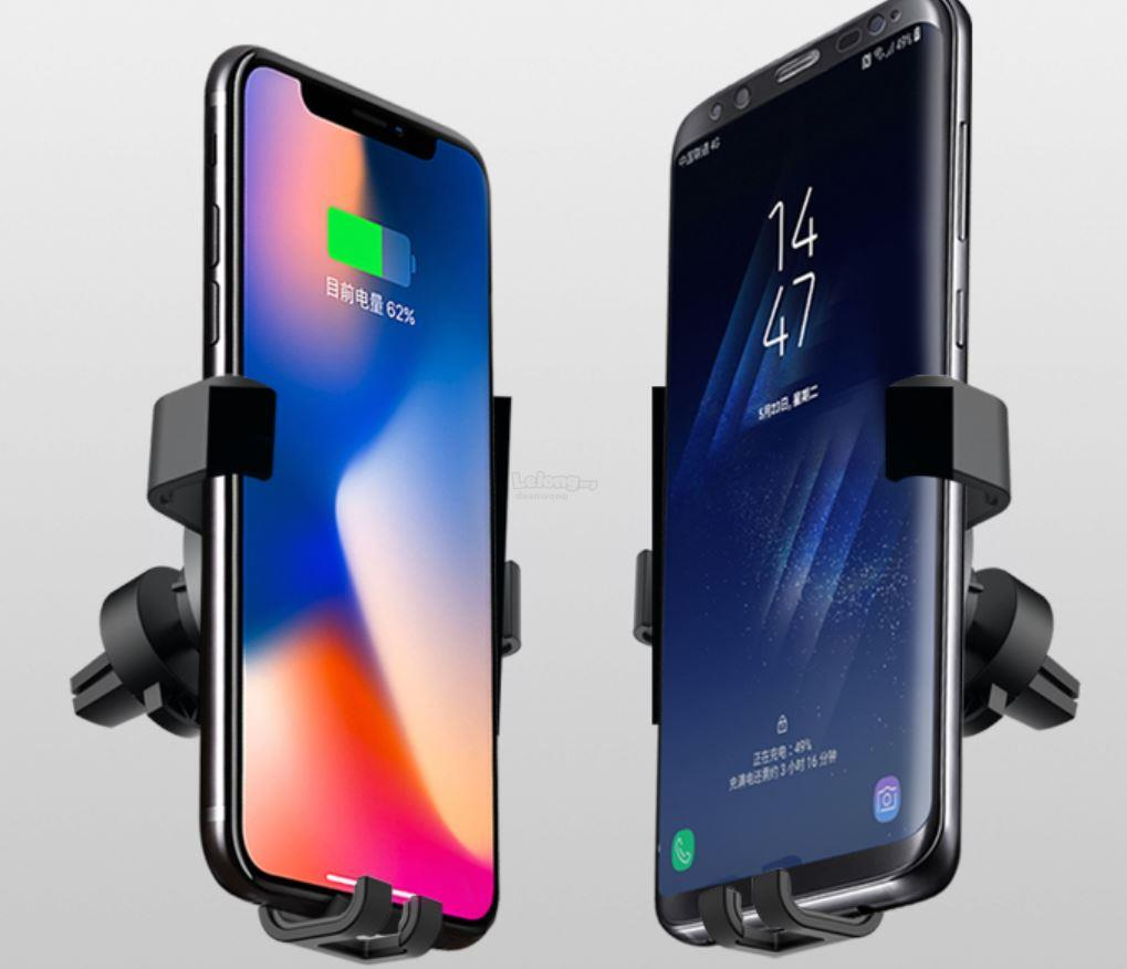 In Car Wireless Fast Charger for Iphone X, Samsung S9, Note 9
