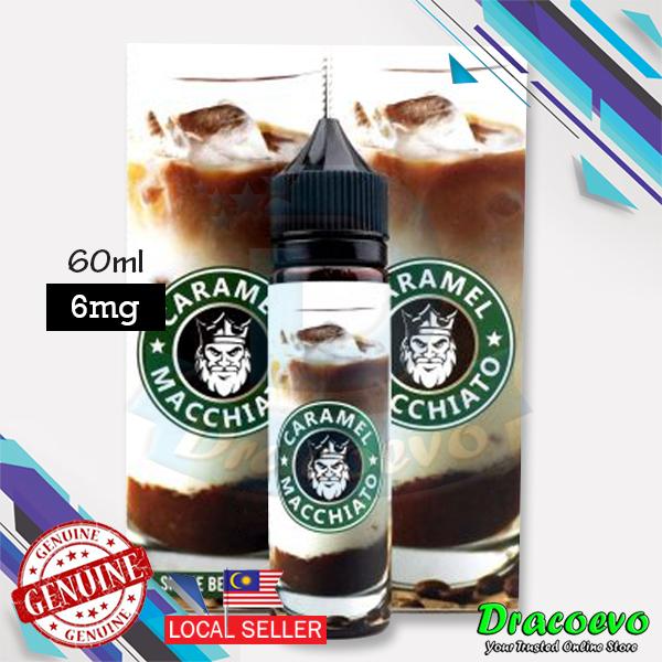 Caramel Macchiato / Strawberry / Green Tea / Blueberry Premium E-Juice
