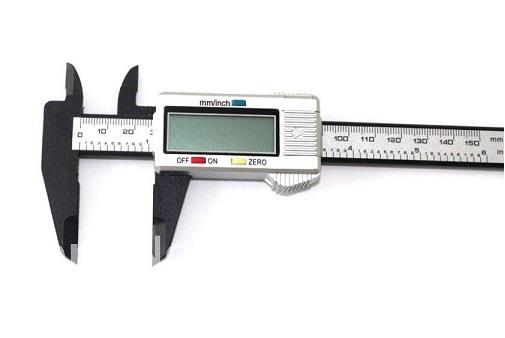 Carbon Fiber Composite Digital Caliper [0 ~ 150mm]