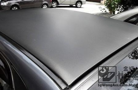 Carbon sticker (1.5m X 1m) stylish!
