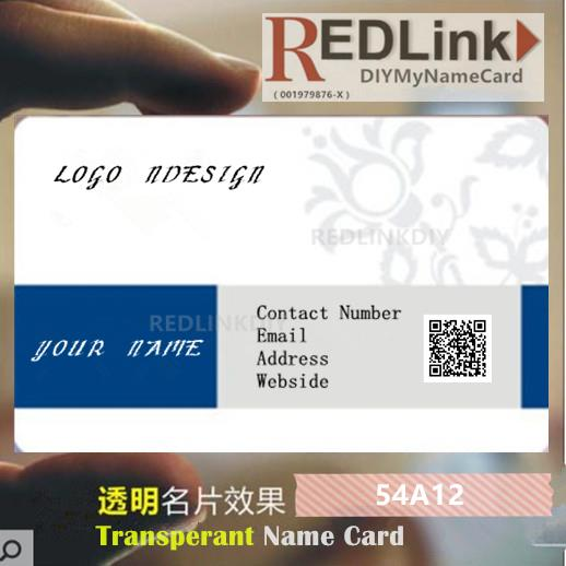 Name Card DIY Business 54A12