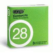 Care 28 Comfort Fit Condom / Kondom- 3's
