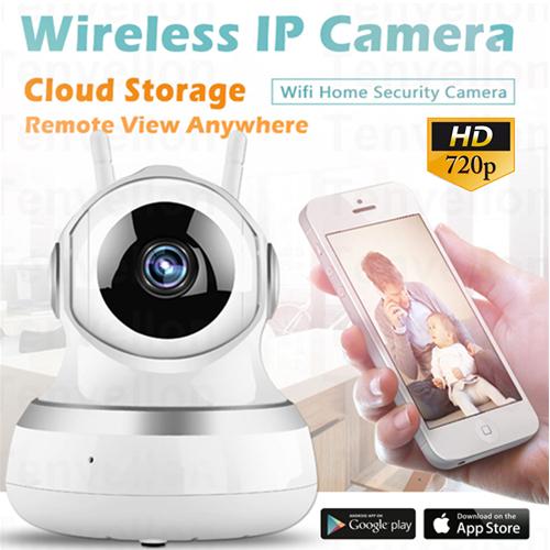 CARE HOME GC13H 720p Night Vision WiFi P2p cloud Ip Ptz Cctv Camera