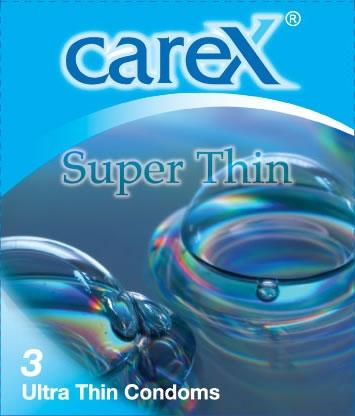 Carex Super Thin Condoms 3pcs