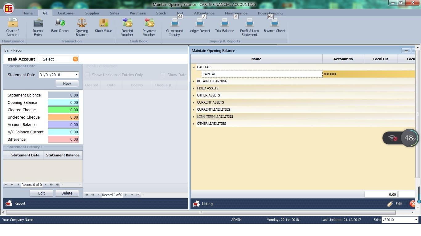 CARI ACCOUNTING FULL VERSION SOFTWARE
