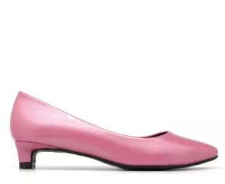 Carlo Rino Pointed Toe Pumps (Pink) (end 3 24 2020 1 15 AM)