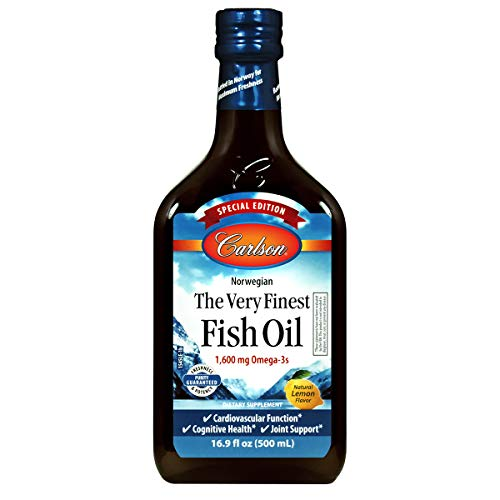 Carlson - The Very Finest Fish Oil, Special Edition, 1600 mg Omega-3s, Liquid