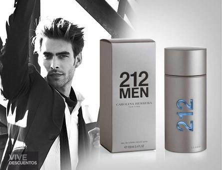 56a5c2a175 Carolina Herrera 212 Men For Men Eau de Toilette 100ML (Authentic )