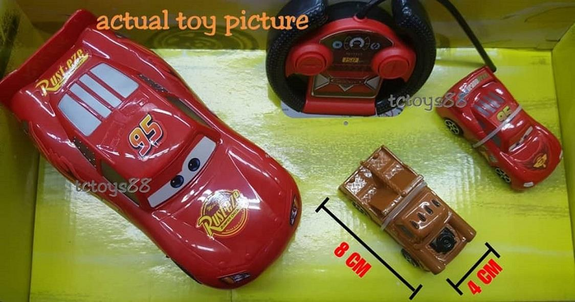Cars Lightning McQueen RC Cars Remote Control Toy Racing Car Toy Truck