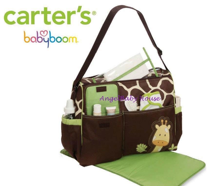 Carter S Baby Boom Diaper Bag Mama Giraffe Carters Mummy