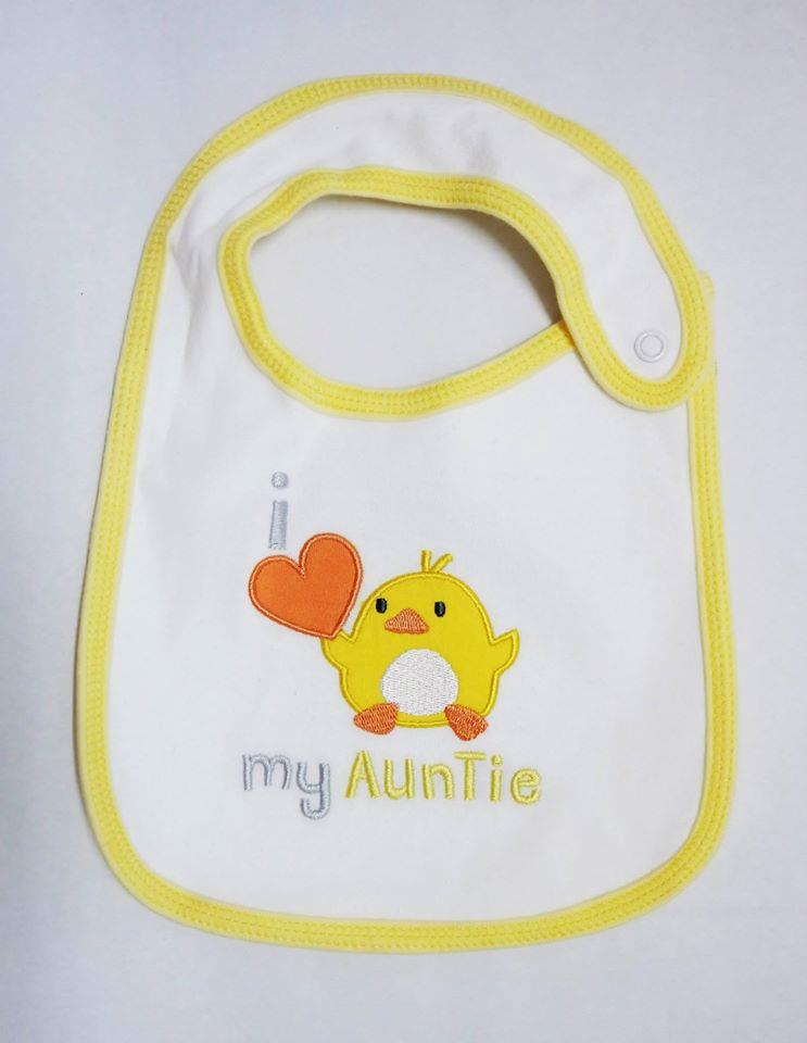 Carters Yellow Ducks - I Love My Auntie