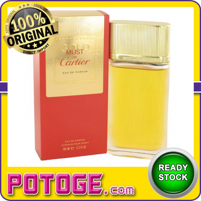 Cartier Must De Cartier Gold 100ml End 11152020 101 Pm