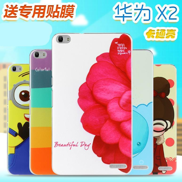 Cartoon Design Huawei Mediapad Honor X2 Hard Back Case Cover + Free SP