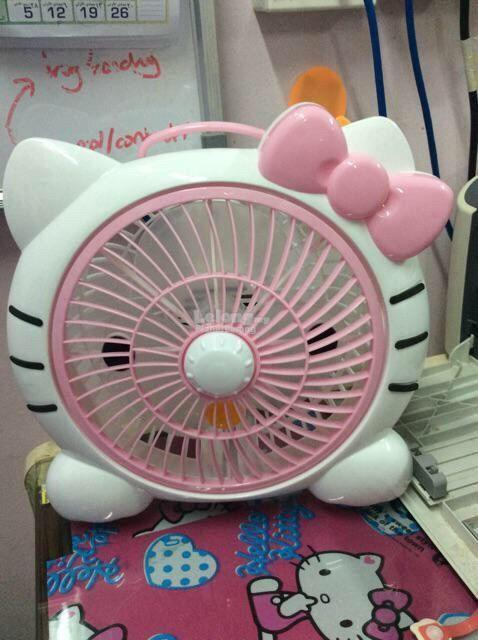 Cartoon Eletric Table Fan (Kipas Meja Elektrik Kartun)!!
