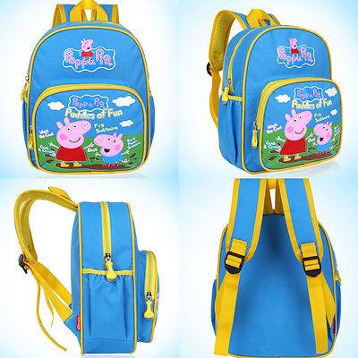e2c67cfe2b1f Cartoon Peppa Pig George School Bag B (end 5 4 2017 5 30 PM)