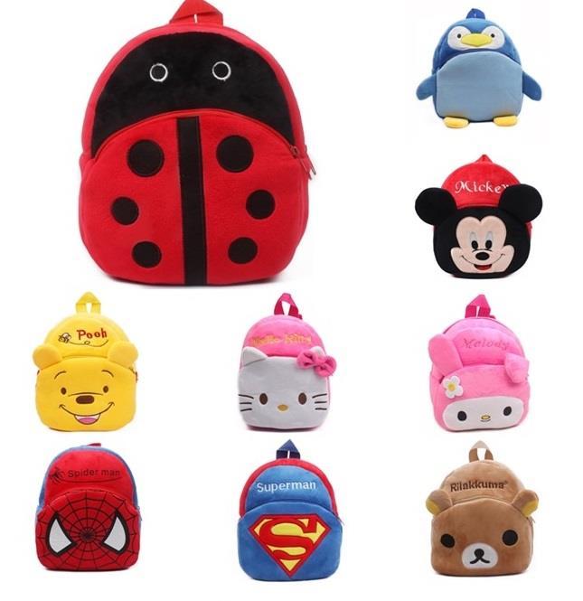 Cartoon Themed Fluffy Kid Backpack (end 7 15 2019 9 33 PM) 37983675123ec