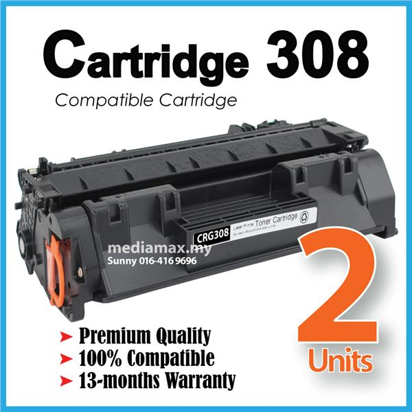 Cartridge 308 CRG308 Cartridge308 Compatible Canon LBP3300 LBP3360 B