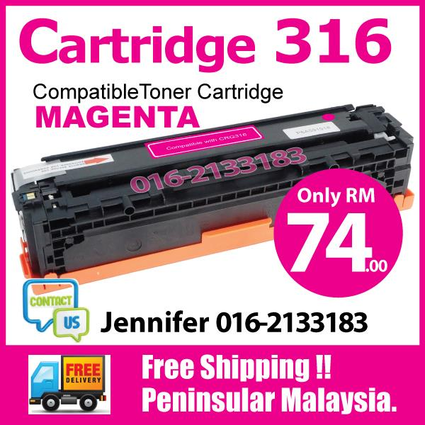Cartridge 316/CRG316@Compatible Canon LBP 5050 5050n MF 8030cn Magenta