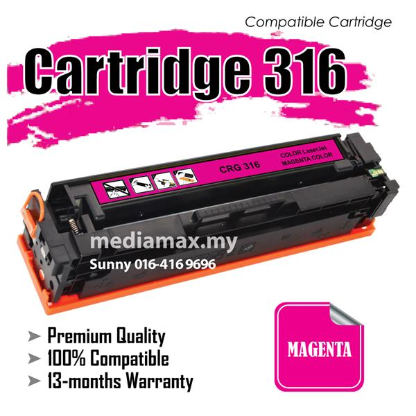 Cartridge 316/CRG316 Magenta@Compatible Canon MF 8030cn 8050cn LBP5050
