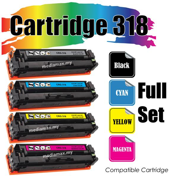 Cartridge 318 Canon318@Compatible Canon LBP 7200 7200cd 7200cdn 7680Cx