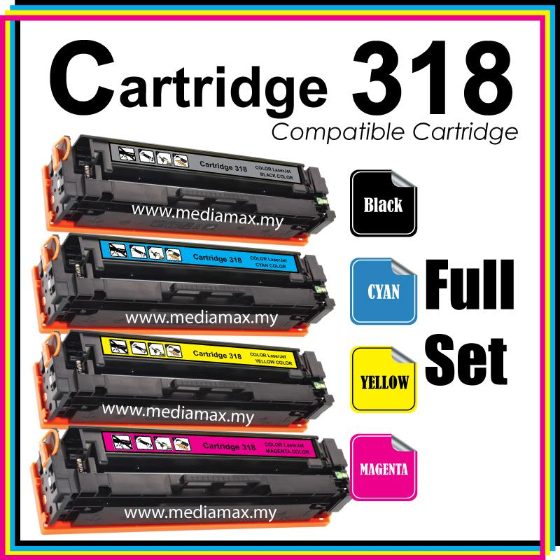 Cartridge 318 CRG318@Compatible Canon LBP7200CD LBP7200cdn MF8350 Full