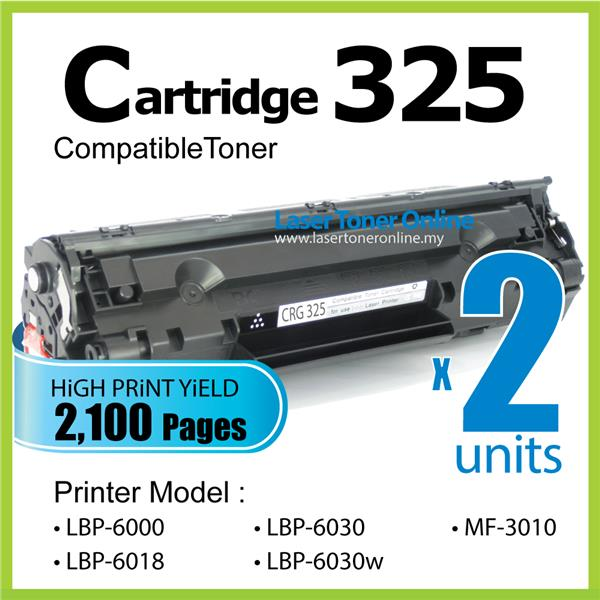 Cartridge 325 CART325 Toner Compatible Canon MF3010 Canon325 MF 3010