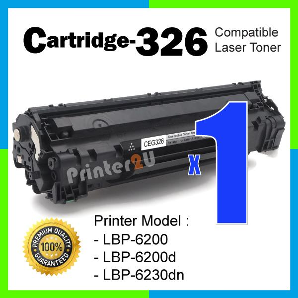 Cartridge 326 CRG CART326 Compatible Canon LBP 6200 6200d 6230dn Toner