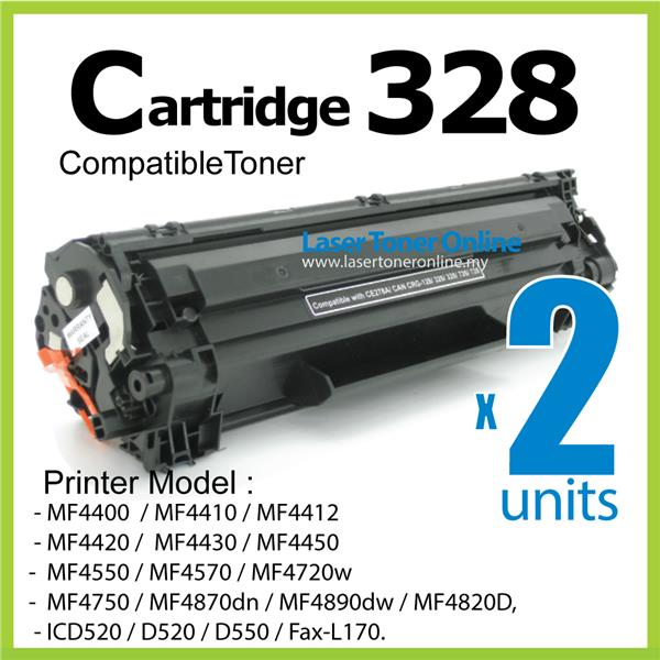 Cartridge 328 Compatible-Canon MF 4412 4400 4420 4550 4570 4580 ICD550