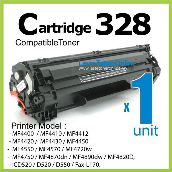 Cartridge 328 Compatible Canon MF 4412 4400 4420 4550 4570 4580 ICD550
