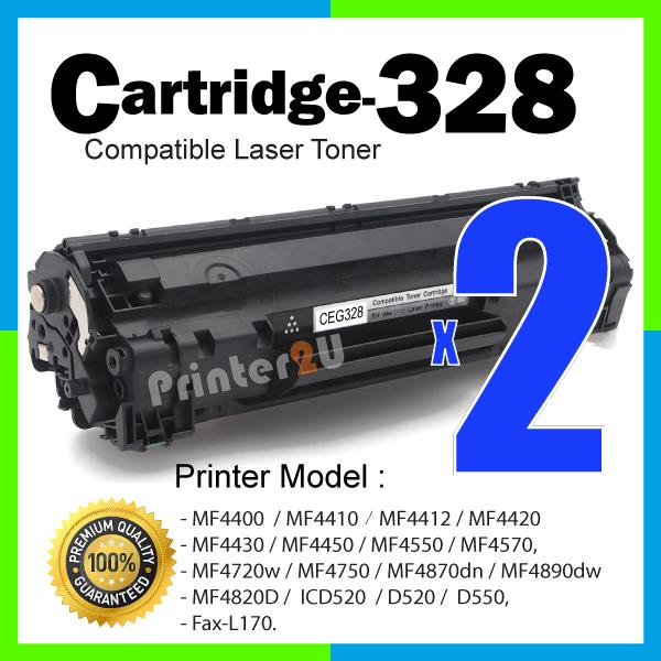 Cartridge 328 CRG Compatible Canon MF 4450/4550/4570/4720w/4750/4870dn