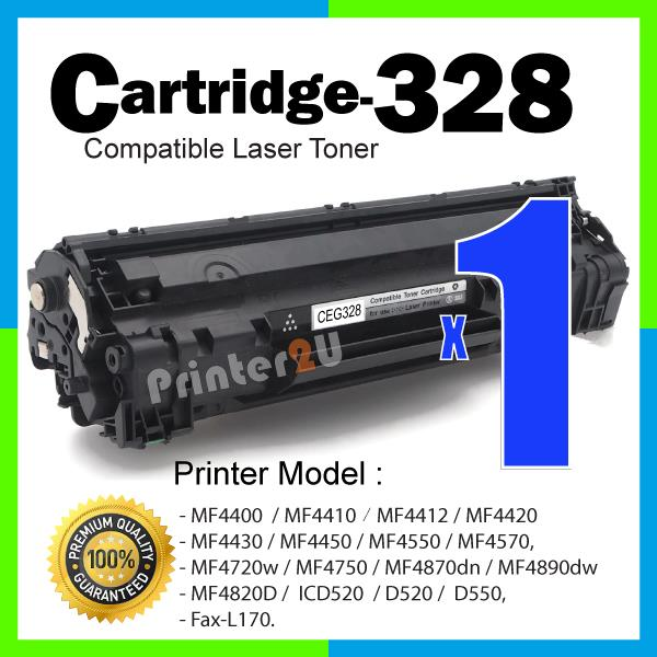 Cartridge 328 CRG Compatible Canon MF 4450 4550 4570 4720w 4750 4870dn
