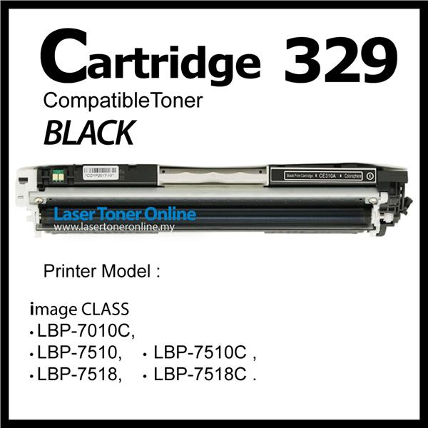 Cartridge 329 Canon329 Compatible Canon LBP7018 LBP7510 Black B Color