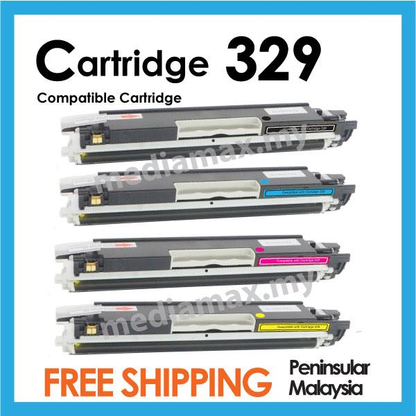 Cartridge 329 Compatible Canon LBP 7018C 7018 Color Toner Set Canon329