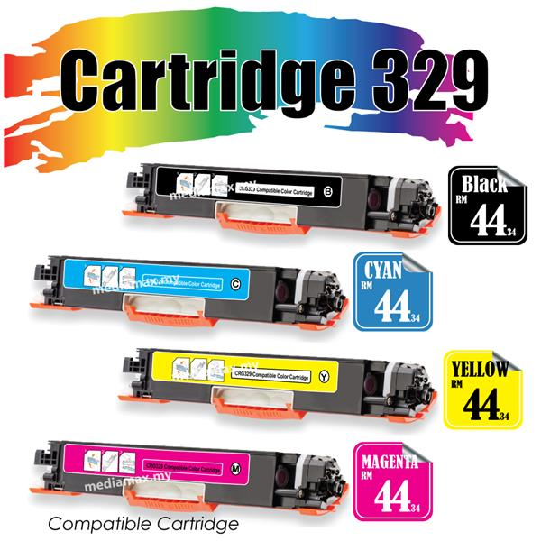 Cartridge 329 CRG329 Compatible Canon LBP 7018 7018C 7510 7510C Laser