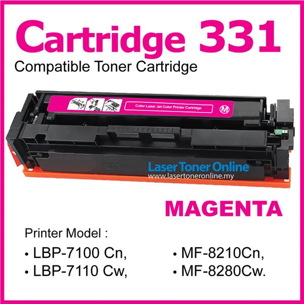 Cartridge 331/CRG331@Compatible Canon MF8210cn MF8230Cn MF8250Cn Color
