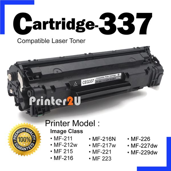 Cartridge 337 CRG337 CRG Compatible Canon Mf211 MF221w MF221d MF215