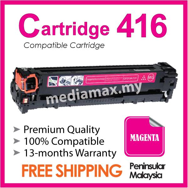 Cartridge 416 Cart@Compatible Canon MF8030cn MF8050Cn MF8080Cw Magenta
