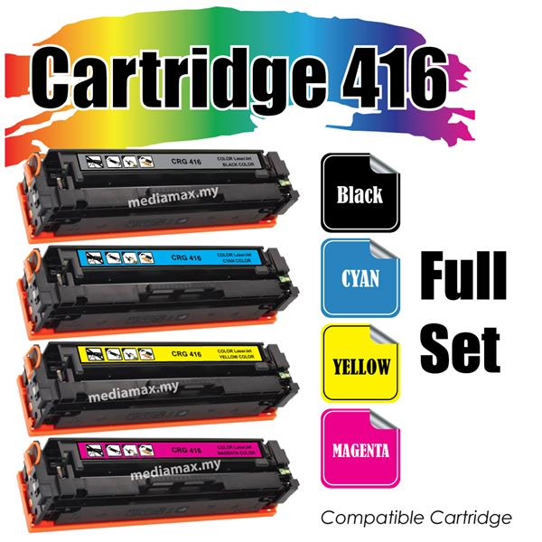 Cartridge 416 Cartridge416@Compatible Canon MF 8030cn 8050cn 8080CW