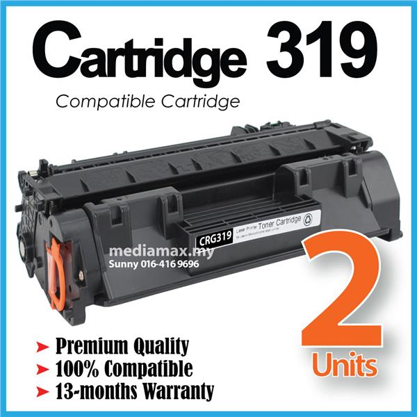 Cartridge CART 319 Compatible Canon LBP 6300DN 6650DN 6680x MF5840dn