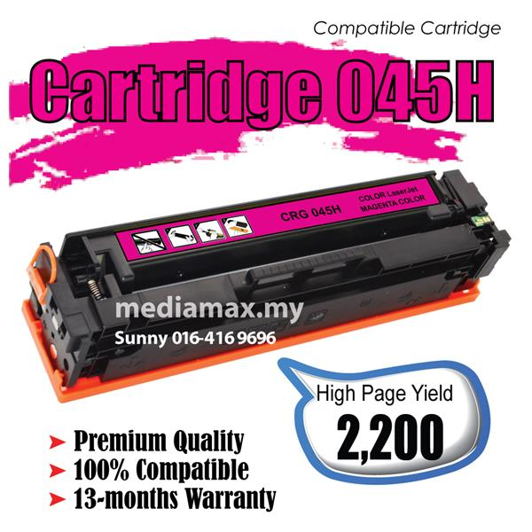 Cartridge CRG 045 45 Compatible CANON imageCLASS MF 635Cx/633Cdw 631Cn