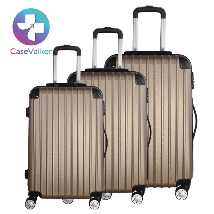 Case Valker Business Premium Luggage Bag ABS HardCase Trolley SuitCase
