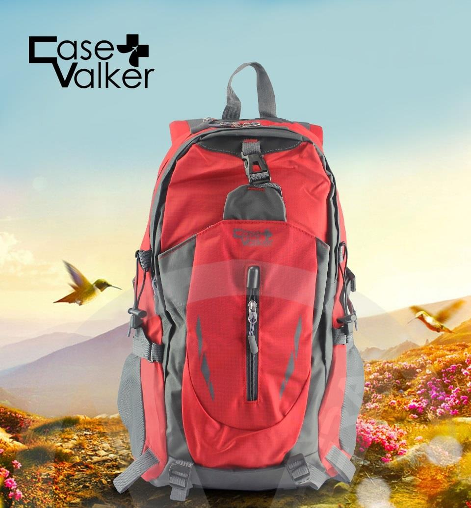 Case Valker Free Knight Outdoor Hiking Backpack Travel Nylon Bag 40L. ‹ › ed9489549f5a8