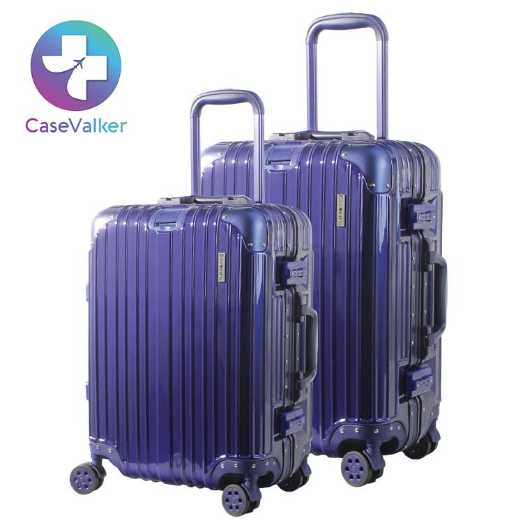Case Valker Royale Premium Luggage Bag PC+ABS Alu Series with TSA Lock