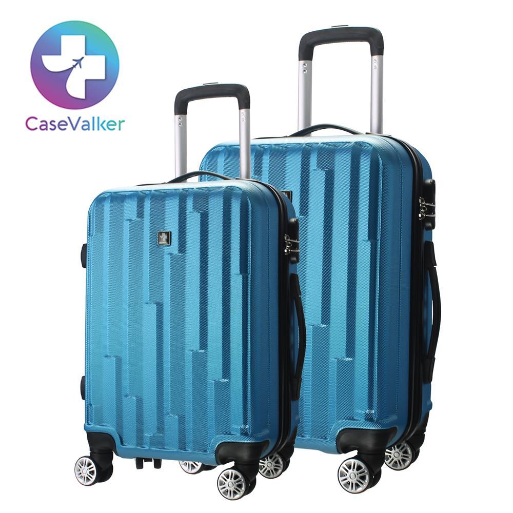 Case Valker Tetris Premium Luggage Bag Abs Hard 20 24 Inch
