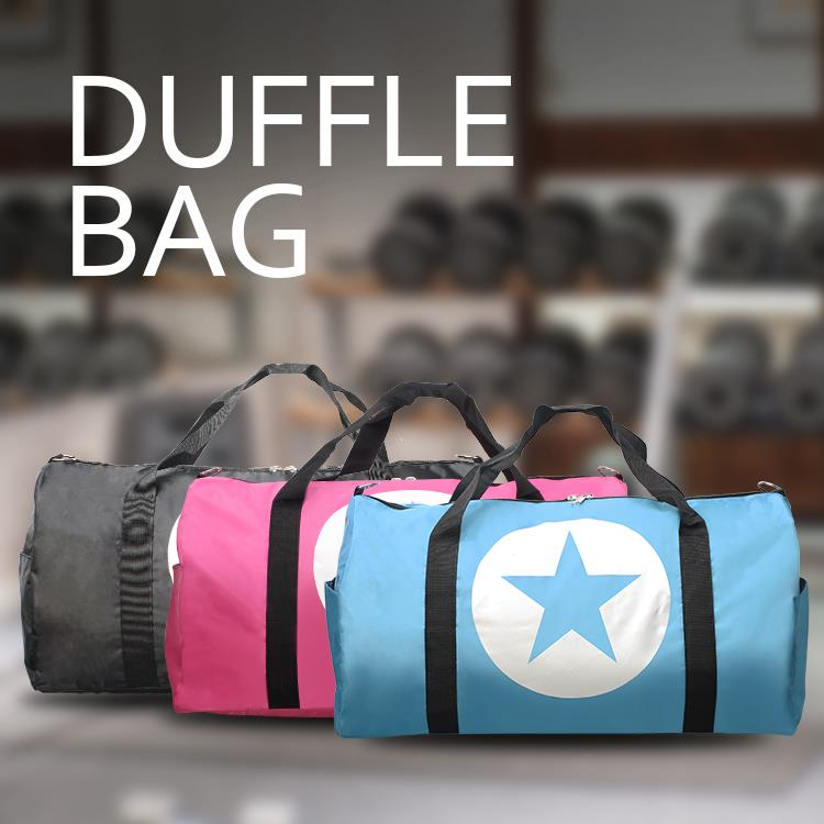 Case Valker Travel Duffel Bag XL Size Nylon Sport Gym Duffle