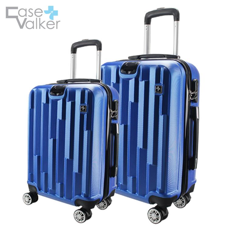 Case Valker Travel Luggage Bag GLOSSY MATRIX ABS Hard Case with Hanger