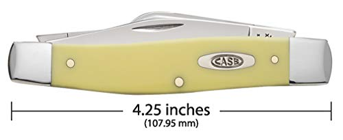 CASE XX WR Pocket Knife Yellow Synthetic Large Stockman Item #203 - (3375 Cv)
