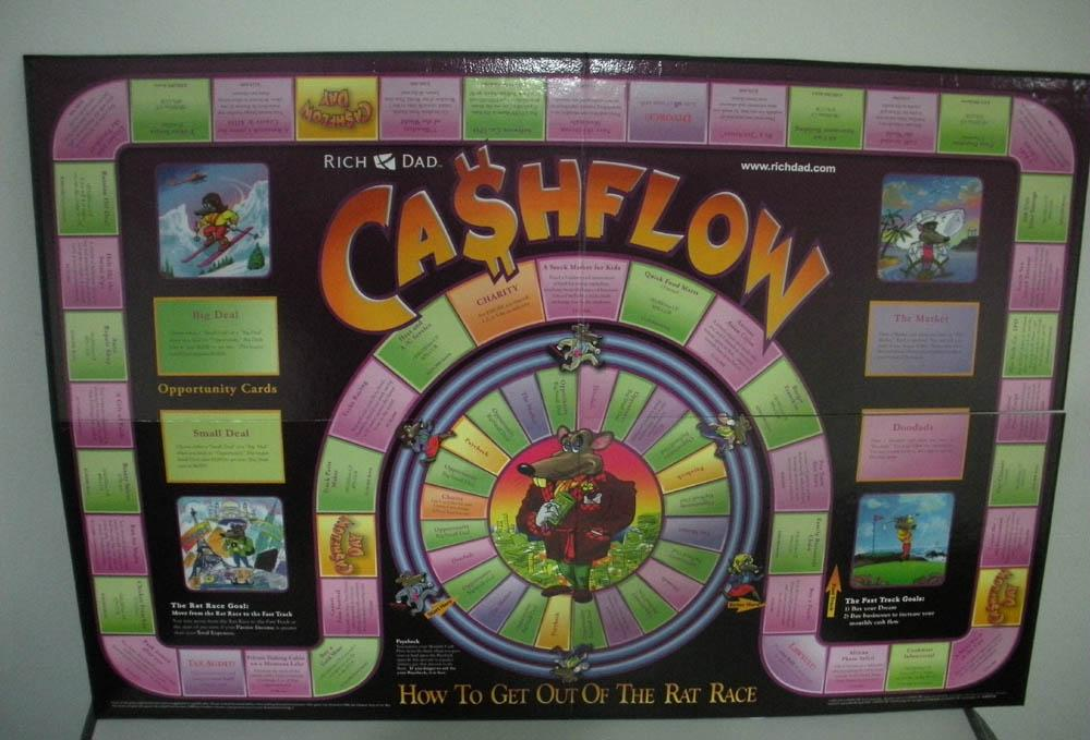 Cashflow 101 Board Game New Version (end 11/23/2017 5:24 PM)